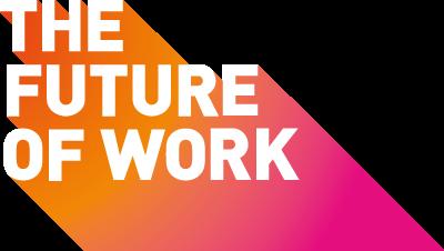 BMBF Kampagne Future of Work Logo